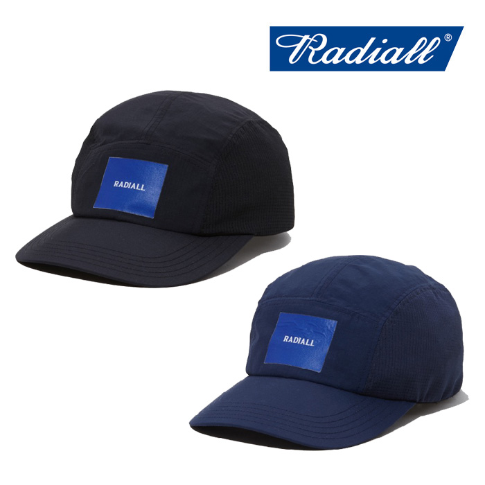 RADIALL(ラディアル) YOSEMITE-CAMP CAP 【2019 SPRING&SUMMER COLLECTION】 【RAD-19SS-HAT008】【キャップ 帽子】
