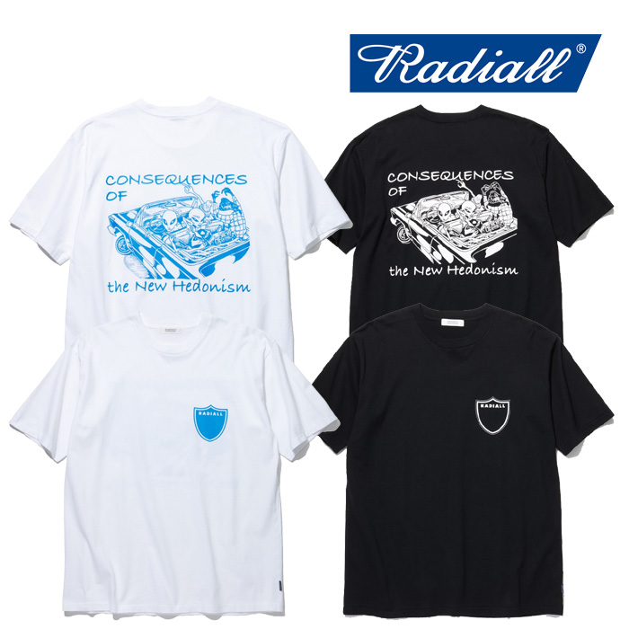 RADIALL(ラディアル) VATO-CREW NECK T-SHIRT S/S 【2019 SPRING&SUMMER COLLECTION】 【RAD-19SS-TEE001】【Tシャツ】