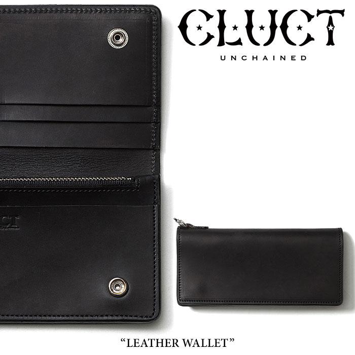 CLUCT(クラクト) LEATHER WALLET 【2019SPRING先行予約】 【送料無料】【キャンセル不可】 【#01348】