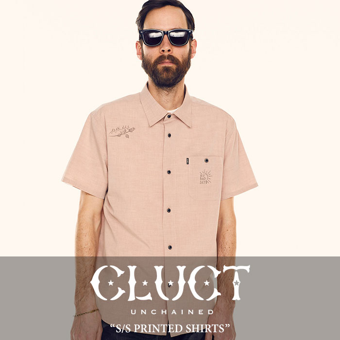 CLUCT(クラクト) S/S PRINTED SHIRTS 【2018SUMMER新作】【#02733】