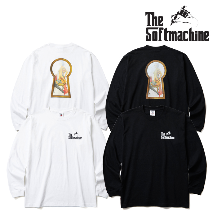 SOFTMACHINE(ソフトマシーン) PEEP L/S(L/S T-SHIRT) 【2019AUTUMN/WINTER新作】【ロンT Tシャツ】