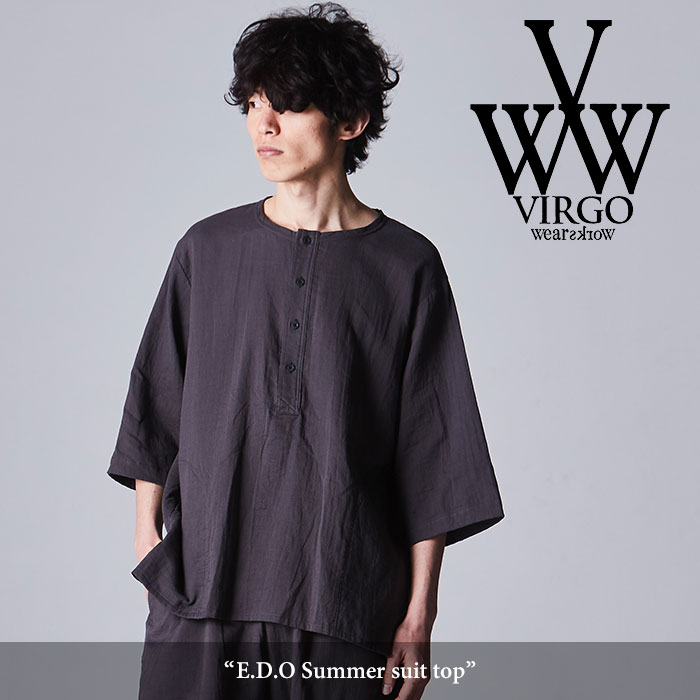 VIRGO(ヴァルゴ) E.D.O Summer suit top 【2018SPRING/SUMMER新作】【VG-SH-186】