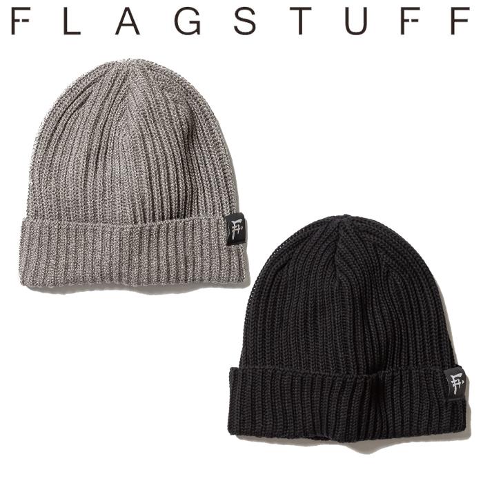 F-LAGSTUF-F(フラグスタフ) KNIT CAP 【19AW-FS-62】 【F-LAGSTUF-F】【FLAGSTUFF】 【フラグスタフ】【フラッグスタッフ】 【
