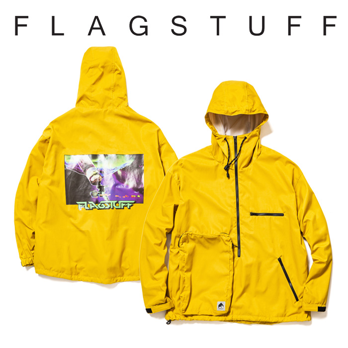 F-LAGSTUF-F(フラグスタフ) H/Z P/O ANORAK MOD 【2019 SPRING&SUMMER COLLECTION】 【F-LAGSTUF-F】【フラグスタフ】【フラッグ