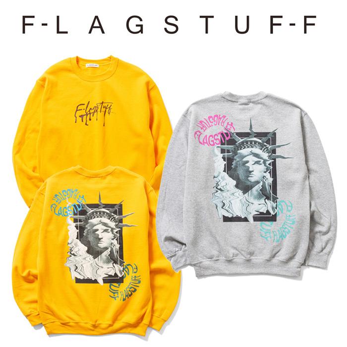 """F-LAGSTUF-F フラグスタフ スウェット """"Liberty"""" SWEAT 【クルーネックスウェット】【20AW-FS-66】 【F-LAGSTUF-F】【FLAGSTUFF】"""