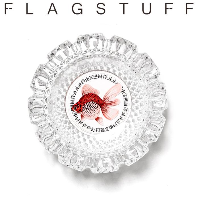 """F-LAGSTUF-F フラグスタフ Tシャツ """"GOLD FISH"""" ASHTRAY 【灰皿】【20AW-FS-88】 【F-LAGSTUF-F】【FLAGSTUFF】【フラグスタッフ"""