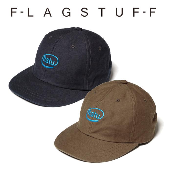 "F-LAGSTUF-F(フラグスタフ) ""flstu"" 6PANEL CAP 【キャップ 帽子】【20AW-FS-93】 【F-LAGSTUF-F】【FLAGSTUFF】【フラグスタフ"