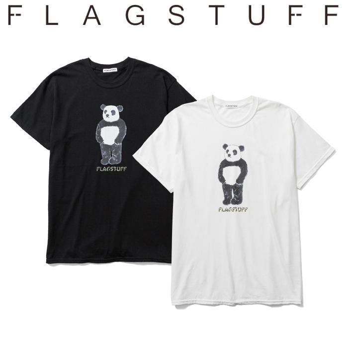 """F-LAGSTUF-F(フラグスタフ) """"PANDA"""" TEE 【Tシャツ 半袖】【20AW-SPOT-FS-08】【F-LAGSTUF-F】【FLAGSTUFF】 【フラグスタフ】【"""
