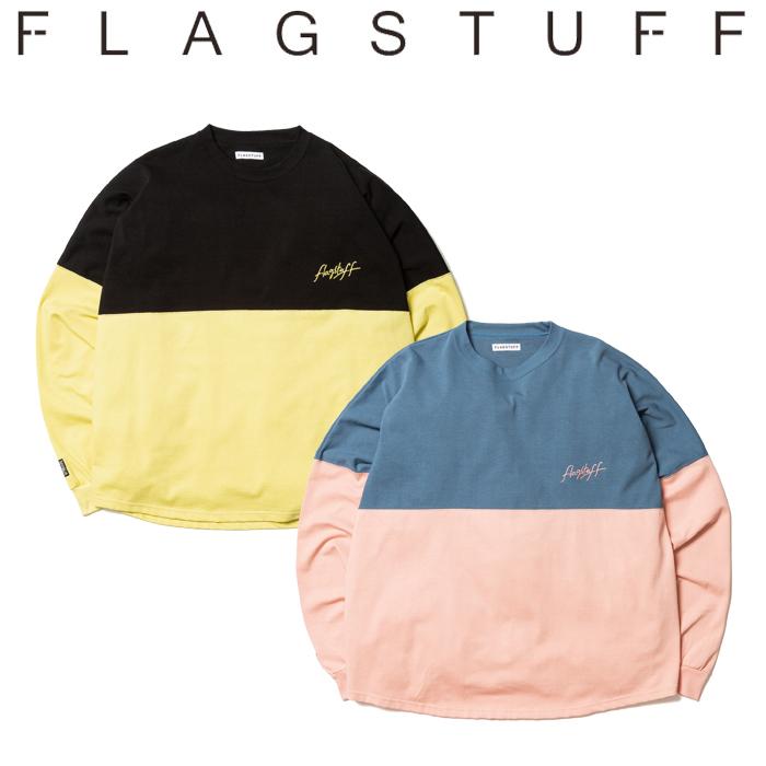 F-LAGSTUF-F(フラグスタフ) F・B L/S Tee 【ロングスリーブTシャツ ロンT】【20SS-FS-26】 【F-LAGSTUF-F】【FLAGSTUFF】 【フラ