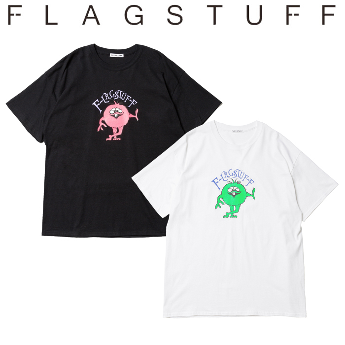 "F-LAGSTUF-F フラグスタフ Tシャツ ""MONSTER"" Tee 【半袖Tシャツ】【20SS-FS-58】 【F-LAGSTUF-F】【FLAGSTUFF】【フラグスタッフ"