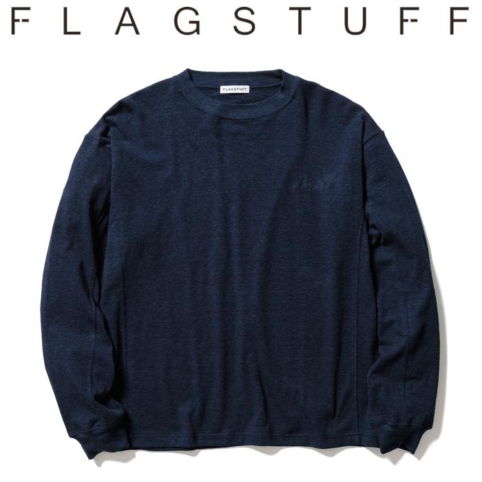 F-LAGSTUF-F(フラグスタフ) PILE L/S Tee 【ロングスリーブTシャツ ロンT】【パイル】【21SS-FS-34】 【F-LAGSTUF-F】【FLAGSTUFF