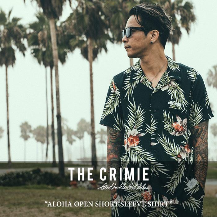 【SALE】 CRIMIE(クライミー) ALOHA OPEN SHORT SLEEVE SHIRT 【2018SPRING/SUMMER新作】【C1H1-SH09】