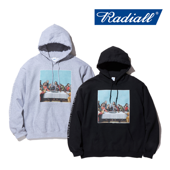 RADIALL(ラディアル) HEDONISM-HOODIE SWEAT SHIRT L/S 【スウェット パーカー】【送料無料】 【2019 AUTUMN&WINTER COLLECTION】