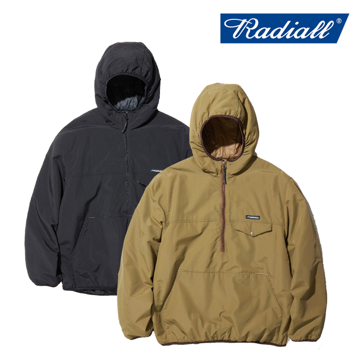 RADIALL ラディアル ジャケット RED WOOD - PULLOVER PARKA JACKET  【プルオーバージャケット】【送料無料】【2019 AUTUMN&WINTER