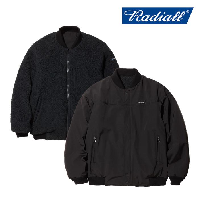 RADIALL ラディアル ジャケット SMOKEY CAMPER - VASITY JACKET  【バーシティジャケット フリース MA-1】【送料無料】【2019 AUTU