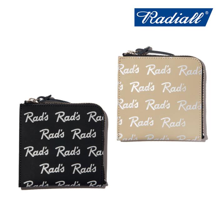 RADIALL(ラディアル) RAD'S - ZIP SQUARE WALLET 【ウォレット 財布】【COM-ONO コラボレーション】【2020 SPRING&SUMMER COLLECTI