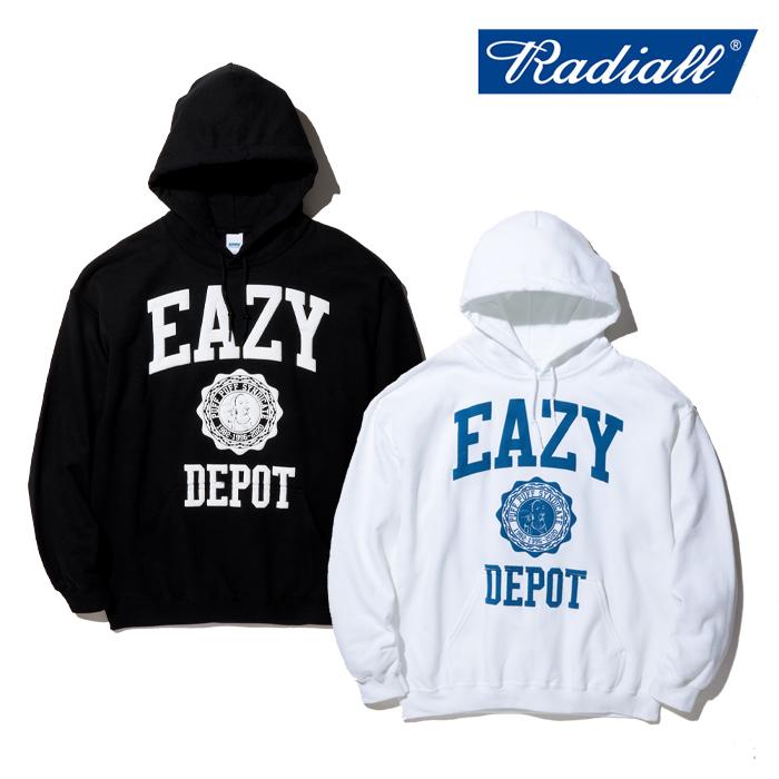 【SALE30%OFF】 RADIALL(ラディアル) EAZY DEPOT - HOODIE SWEATSHIRT L/S 【スウェットパーカー】【セール】【RAD-20SS-CUT019】