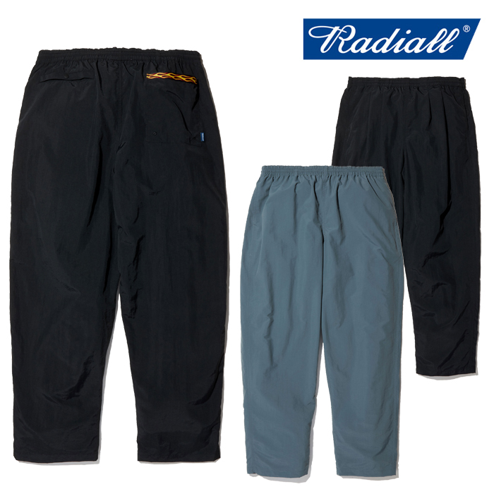 RADIALL(ラディアル) CHIAPAS - STRAIGHT FIT TRACK PANTS 【トラックパンツ】【2020 SPRING&SUMMER COLLECTION】【RAD-20SS-PT001