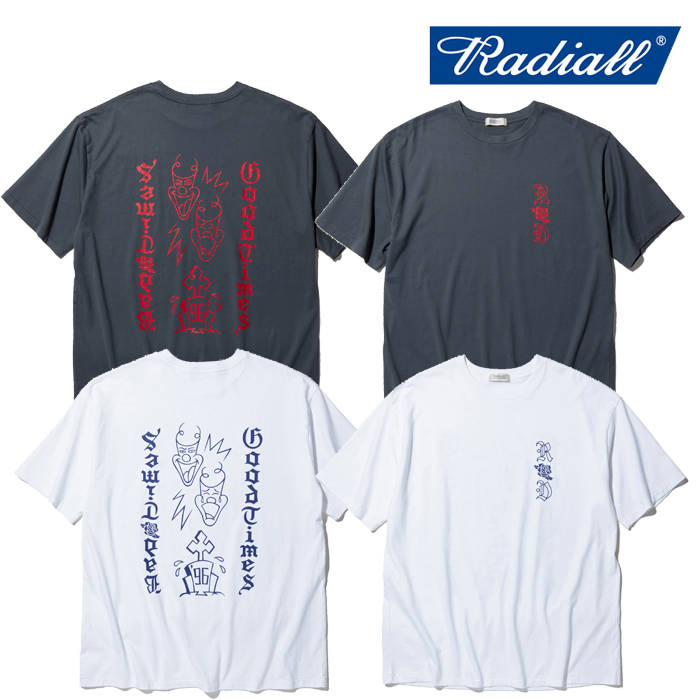 RADIALL(ラディアル) TWO FACE - CREW NECK T-SHIRT S/S 【Tシャツ 半袖】【2020 SPRING&SUMMER COLLECTION】【RAD-20SS-TEE010】