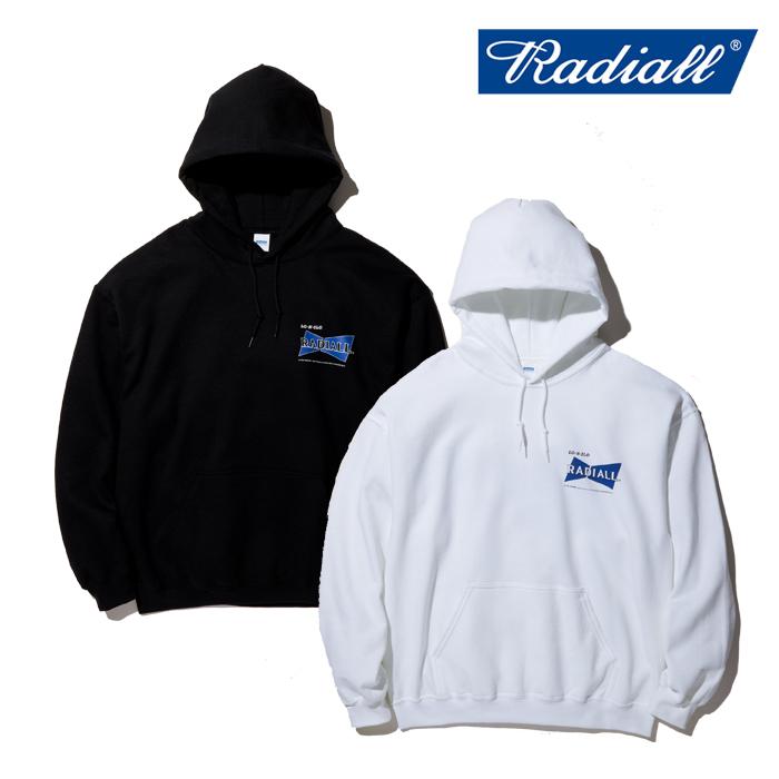 RADIALL(ラディアル) BOWTIE - HOODIE SWEATSHIRT L/S 【スウェットパーカー】【RAD-20SS-CUT020】
