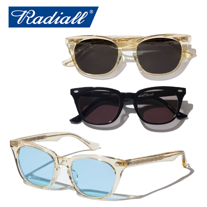 RADIALL(ラディアル) FIFTY NINE - SUNGLASSES 【サングラス】【2020 SPRING&SUMMER COLLECTION】【RAD-GLS002】