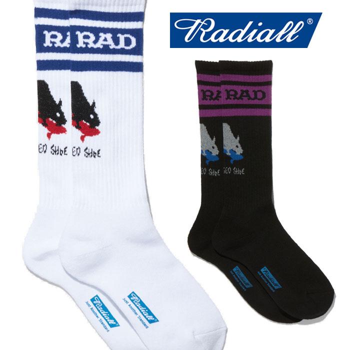 RADIALL(ラディアル) 2PAC SOX - SKATE RAT 【ソックス】【2020 SPRING&SUMMER COLLECTION SPOT】【RAD-PSD004】