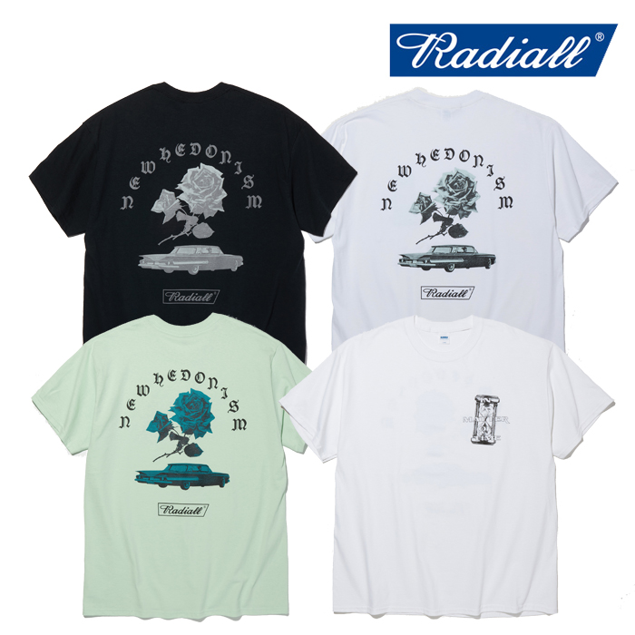 RADIALL(ラディアル) MATTER - CREW NECK T-SHIRT S/S 【Tシャツ 半袖】【2020 SPRING & SUMMER SPOT COLLECTION】【RAD-20SS-SPOT
