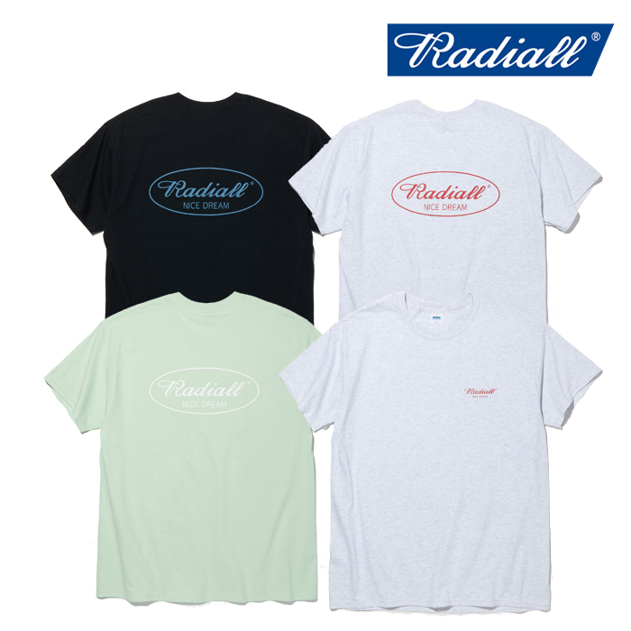 RADIALL(ラディアル) OVAL - CREW NECK T-SHIRT S/S 【Tシャツ 半袖】【2020 SPRING & SUMMER SPOT COLLECTION】【RAD-20SS-SPOT-T