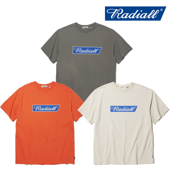 RADIALL(ラディアル) FLAGS - CREW NECK T-SHIRT S/S 【Tシャツ 半袖】【2020 SPRING & SUMMER SPOT COLLECTION】【RAD-20SS-SPOT-