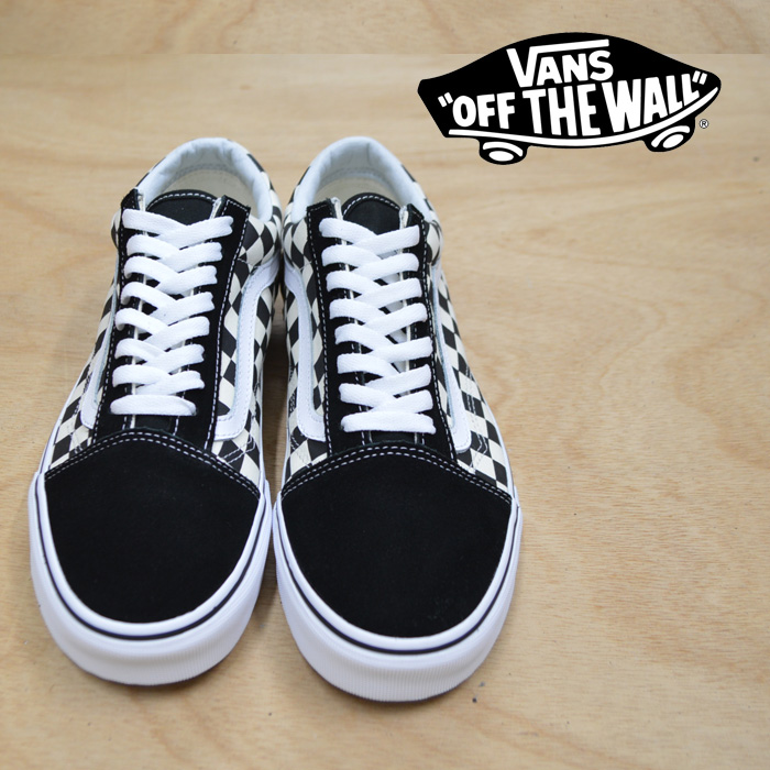 【VANS(バンズ)】 OLD SKOOL (GUM BLOCK) CHECKERBOARD 【即発送可能】 【VANS スニーカー】【VN0A38G1U58】