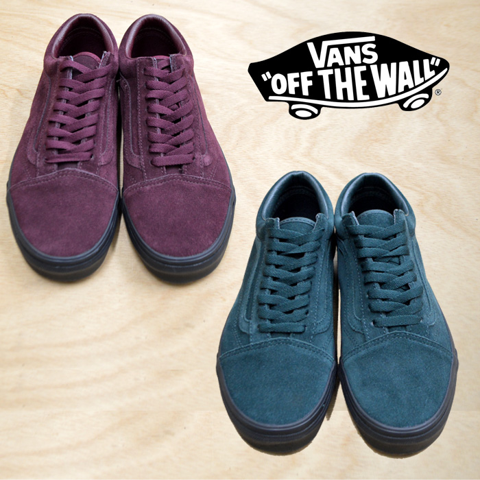 【VANS(バンズ)】 OLD SKOOL (BLACK OUTSOLE) PORT ROYAL/DARKEST SPRUCE 【VANS スニーカー】【VN0A38G1UA4】【VN0A38G1U8U】