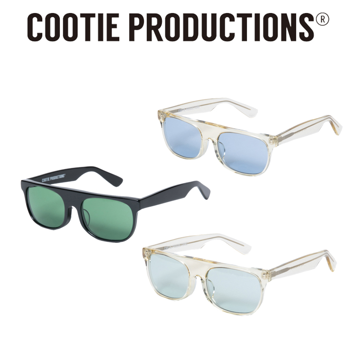 COOTIE(クーティー)  Raza Flat Top Glasses 【サングラス グラサン メガネ】【CTE-20S525】