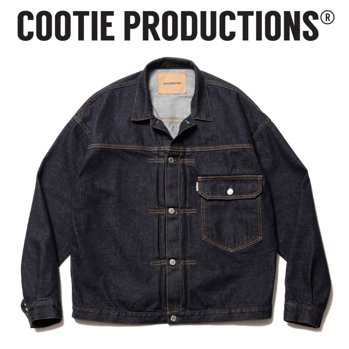 COOTIE (クーティー)  1st Type Denim Jacket  【デニムジャケット ジャケット】【送料無料】【CTE-21A202】