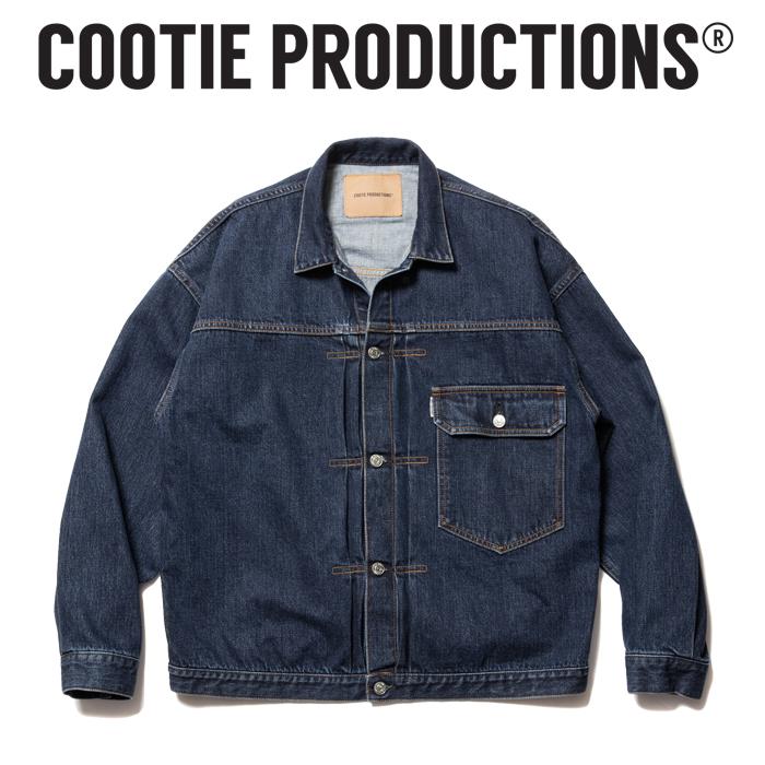 COOTIE (クーティー)  1st Type Denim Jacket  【デニムジャケット ジャケット】【送料無料】【CTE-21A203】