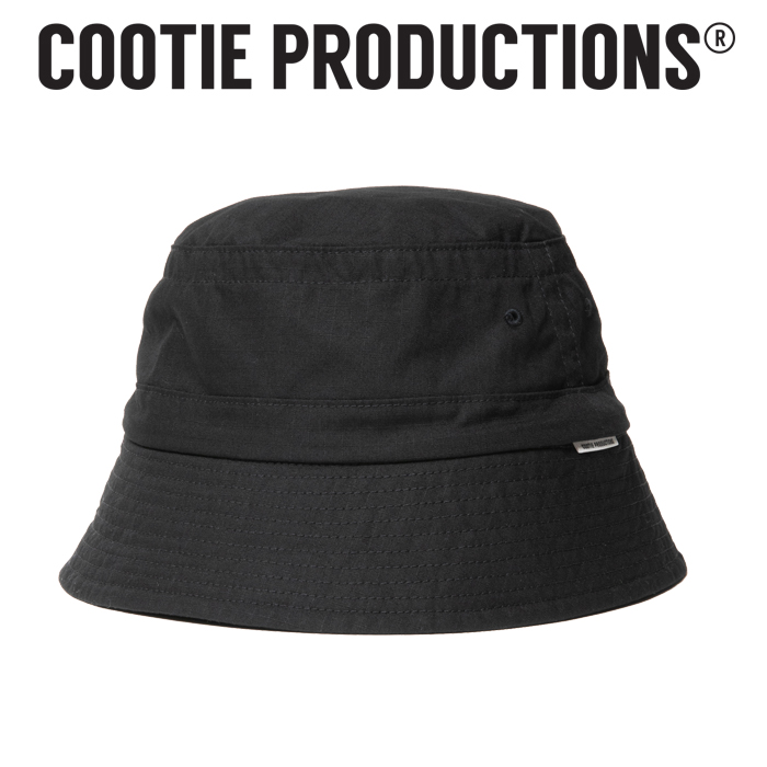 COOTIE(クーティー)  Ripstop Bucket Hat 【バケットハット 帽子】【CTE-21S510】