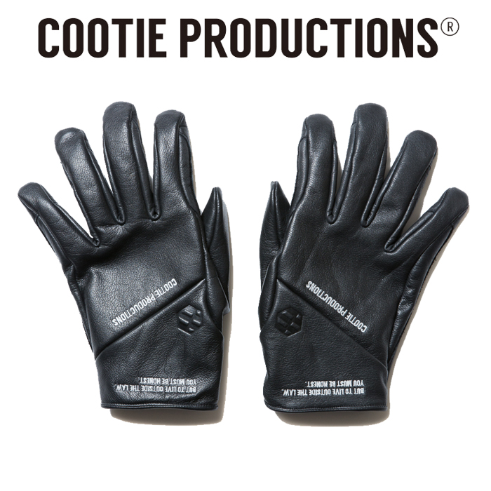 COOTIE(クーティー) Fam+ilia Leather Glove 【グローブ】【手袋】【CTE-19A514】【送料無料】