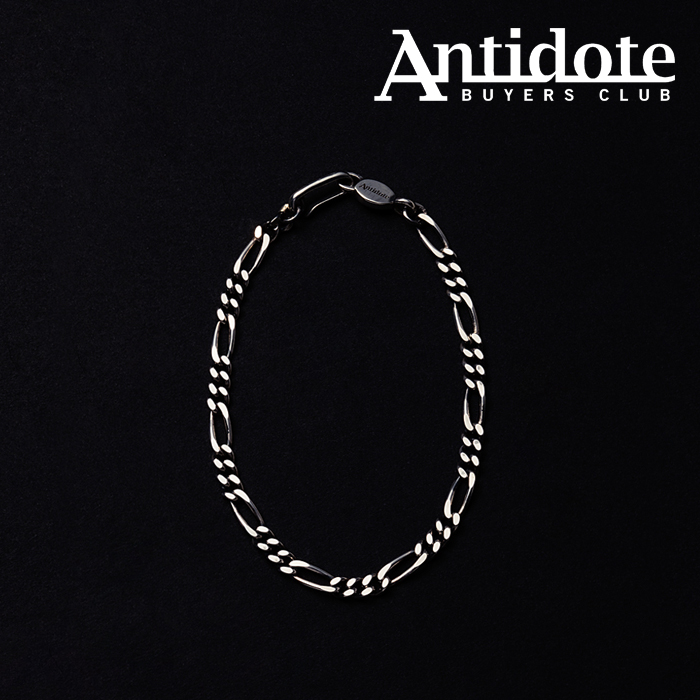ANTIDOTE BUYERS CLUB(アンチドートバイヤーズクラブ) Figaro Chain Bracelet 【RX-609-S-20AW2】【フィガロチェーン ブレスレット