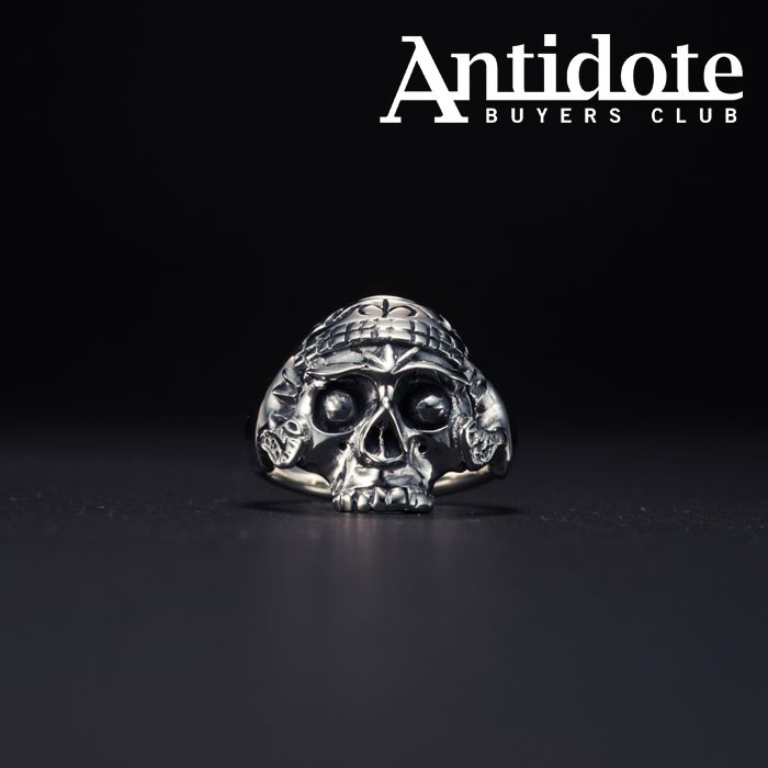 ANTIDOTE BUYERS CLUB(アンチドートバイヤーズクラブ) Tibetan Skull Ring 【RX-706-S-20AW2】【チべタン スカル】【リング】【送
