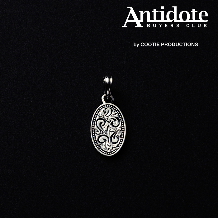 ANTIDOTE BUYERS CLUB(アンチドートバイヤーズクラブ) Engraved Plate Pendant 【RX-908-S】【ペンダントトップ】【送料無料】