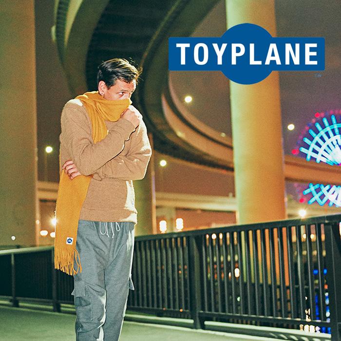 【SALE30%OFF】 TOYPLANE(トイプレーン) RIB KNIT SWEATER 【2018AUTUMN/WINTER新作】 【リブ ニット セーター】【TP17-FKN02】