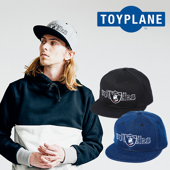 【SALE40%OFF】 TOYPLANE(トイプレーン) SUCKERS SNAP BACK CAP 【2018AUTUMN/WINTER新作】 【キャップ】【TP18-FCP02】