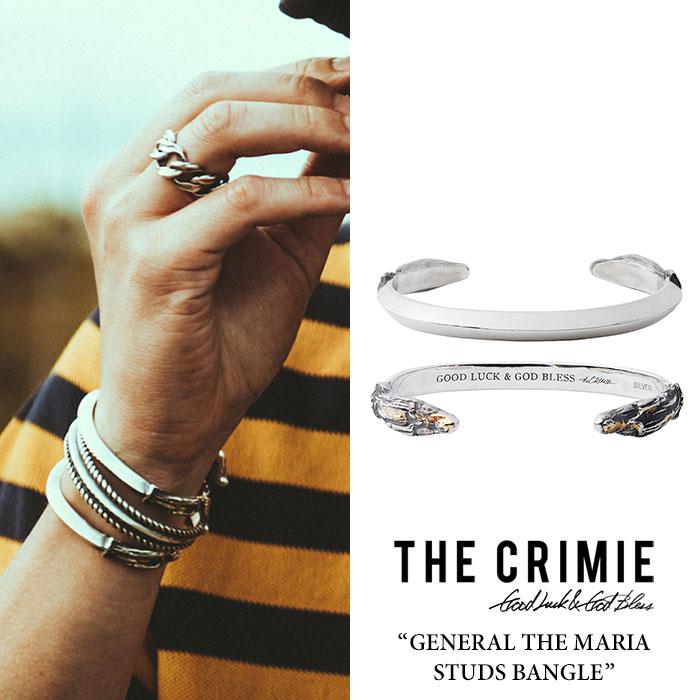 CRIMIE(クライミー) GENERAL THE MARIA STUDS BANGLE 【2018 SUMMER先行予約】 【送料無料】【キャンセル不可】 【C1H1-CXAG-GB0