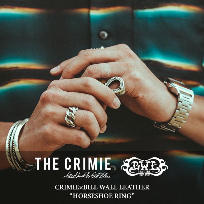 CRIMIE(クライミー) HORSESHOE RING 【2018 SUMMER先行予約】 【送料無料】【キャンセル不可】 【C1H3-CRBW-R05C】 【CRIMIE x
