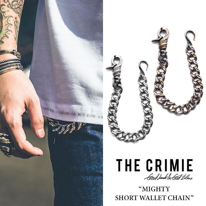 CRIMIE(クライミー) MIGHTY SHORT WALLET CHAIN 【2018 SUMMER先行予約】 【送料無料】【キャンセル不可】 【CRIMIEウォレットチ