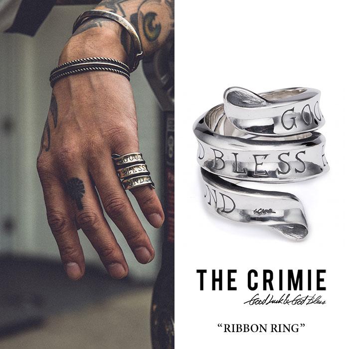 CRIMIE(クライミー) RIBBON RING 【2018 SUMMER先行予約】 【送料無料】【キャンセル不可】 【CRIMIE リング】【C1H3-CXAG-RR01