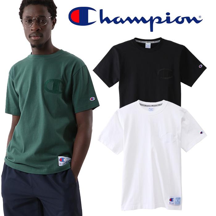 CHAMPION(チャンピオン) T-SHIRT クルーネックショートスリーブTシャツ 【ACTION STYLE アクションスタイル 】【春夏新作 2020SS