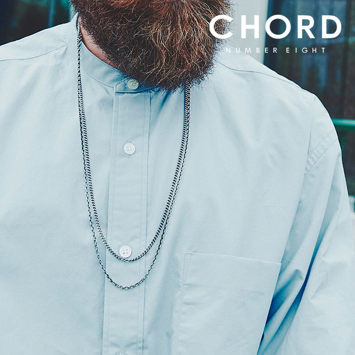 CHORD NUMBER EIGHT(コードナンバーエイト) DOUBLE STRAND LONG CHAIN (THIN TYPE) 【2019SPRING/SUMMER先行予約】 【キャンセル