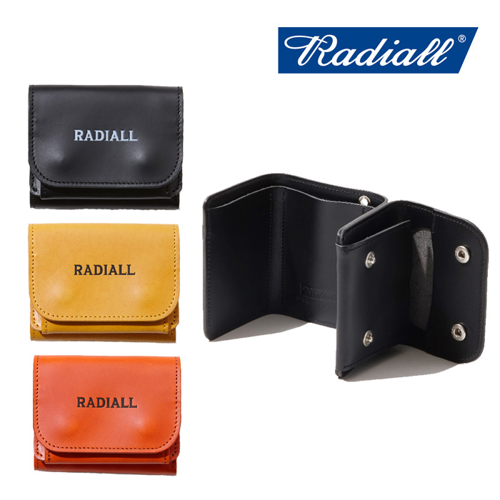 RADIALL(ラディアル) PLAIN-TRIFOLD WALLET 【2019 SPRING&SUMMER COLLECTION】 【RAD-19SS-ACC003】【ウォレット】
