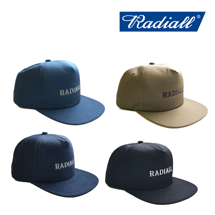 RADIALL(ラディアル) CVS-TRUCKER CAP 【2019 SPRING&SUMMER SPOT COLLECTION】 【RAD-19SS-SPOT-HAT001】【キャップ】