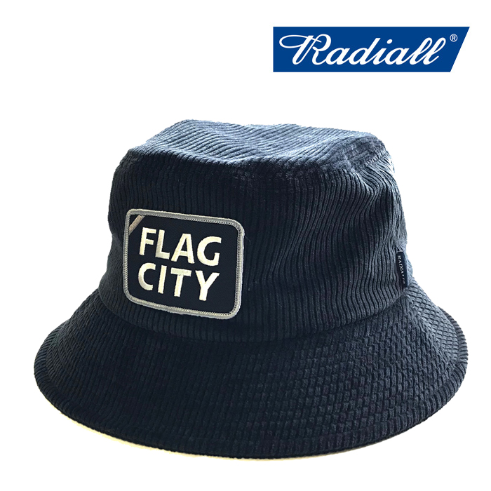 RADIALL(ラディアル) 「FLAG CITY - BUCKET HAT」バケットハット 【2019 SPRING&SUMMER SPOT COLLECTION】 【RAD-19SS-SPOT-HAT00